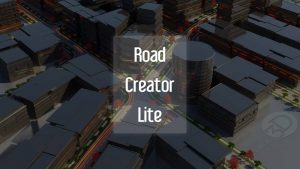 Road Creator Lite Quick Road Shape Creator share by Lucas3D